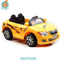 WDZP5058 Hot Selling 4 Wheel Bike Ride On Cars For Kids, 2 Seats RC