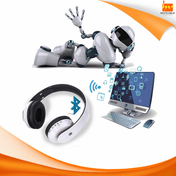 Bluetooth FM TF Computer Game TV wireless headset