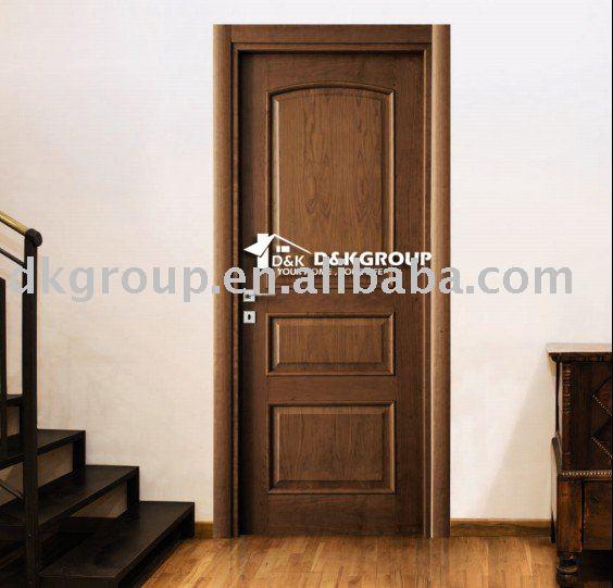 Classique porte de la chambre de bois portes id de produit for Porte de chambre en bois