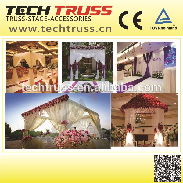 Wedding Backdrop Frame Ceiling Draping KitsPipe And Drape System