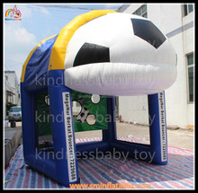 China factory price inflatable football goal , football doors for sports