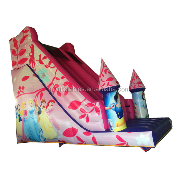 2019 party rental inflatable slide with bouncy castle for girls
