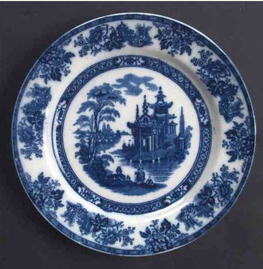 Madras Salad Plate by Royal Doulton