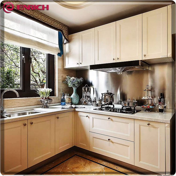 Hot Sales Wooden Waterproof Pvc Sheet Finish Shaker Style White Mdf Pvc Membrane Kitchen Cabinet Buy Mdf Kitchen Cabinet Design Plastic Kitchen