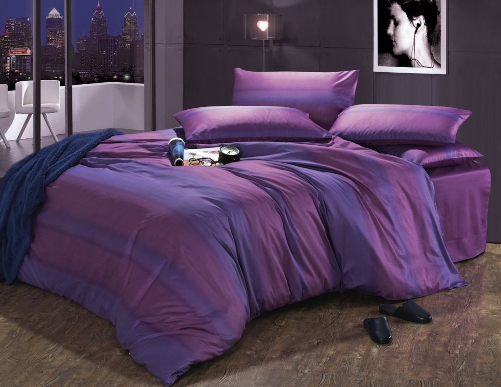 New Beautiful 4pc 100 Cotton Comforter Duvet Doona Cover