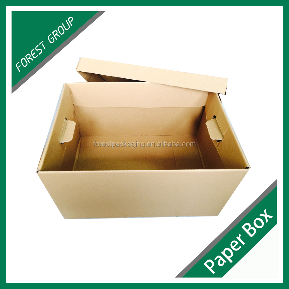 CUSTOM CLEAR A3 A4 SIZE PVC HARDCOVER ARCHIVE BOXES