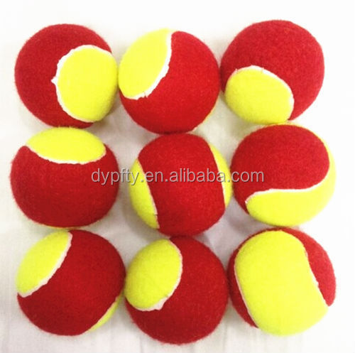 wholesale brand red and yellow mini tennis balls