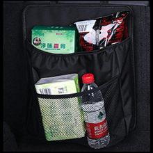 1 шт., органайзер для багажника автомобиля, сумка для хранения на заднем сидении, сетчатый Автомобильный держатель для напитков, карманный а...(Китай)