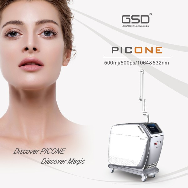 GSD PICONE pico laser more effective than q-switched nd-yag laser