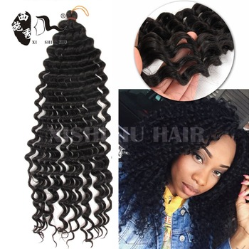 Alibaba Express Freetress Pre Loop 3x Deep Synthetic Afro Twist Braid For Curly