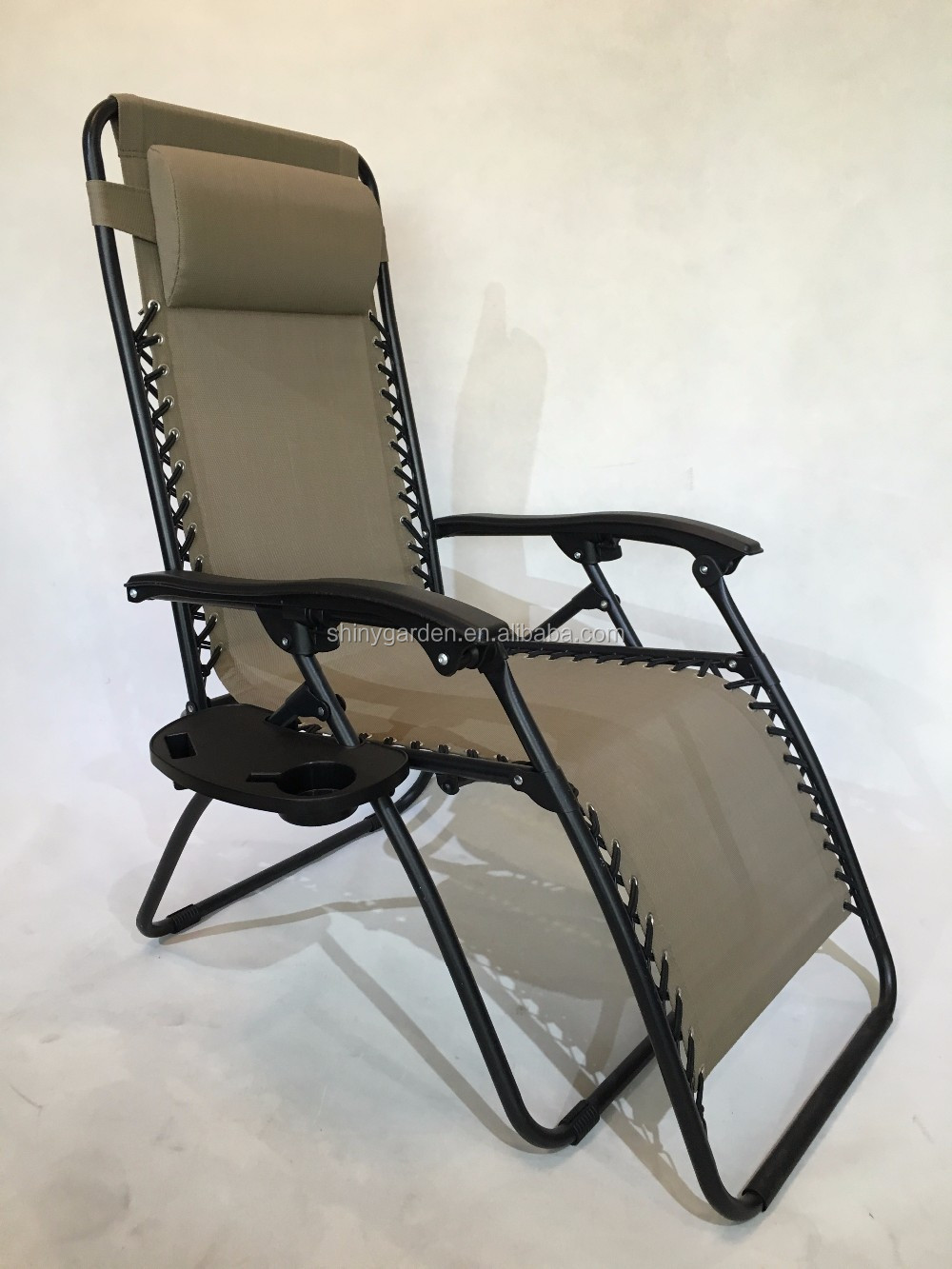 Amazon Folding Foldable Patio Folding Relax Recliner Zero Gravity Chair Seat