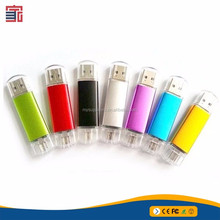 Promotional gift metal otg oem usb flash drive with logo
