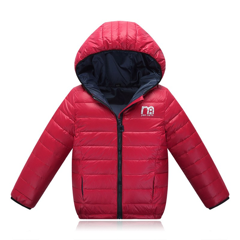 b6bce080a132 Detail Feedback Questions about Boys Winter Jacket 2018 New Brand ...