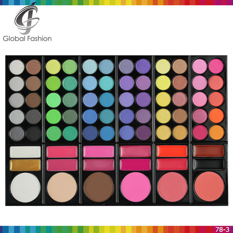Make up palette chinese makeup brands high pigmented eyeshadow