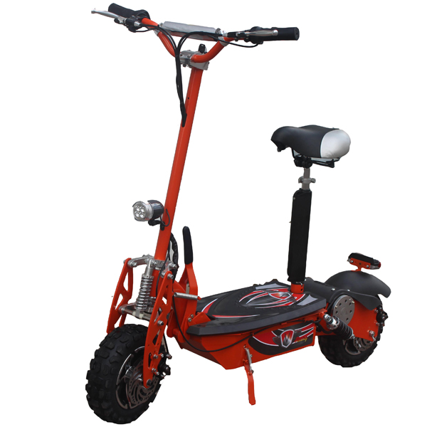 48v1600w Evo 2 Wheel Stand Up Folding Electric Scooter Portable