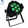 7pcs * 18w 6 in 1 rgbaw + uv LED par stage light wedding lights