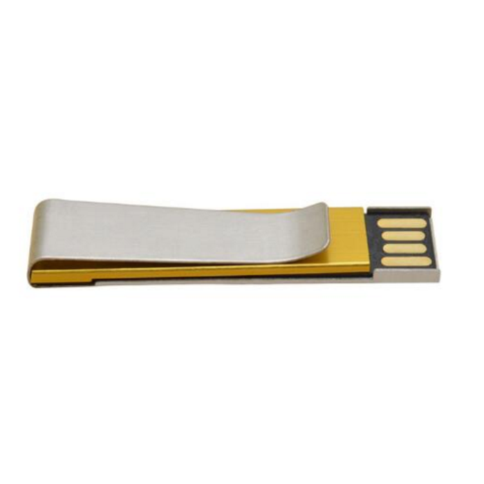 China High Quality Business Gift Usb 16Gb Pen Drive Metal Money Tie Clip Fancy Usb 3.0 Flash Drive 8Gb Paper Clip Disk Pendrive