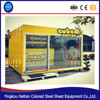 Container restaurant designer fast food kiosk prices prefabricated juicer ,ice cream bar kiosk manufacturer booth for sale