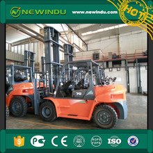 HELI 5t Gasoline Manual Forklift Truck CPQD50 with Manual Stacker