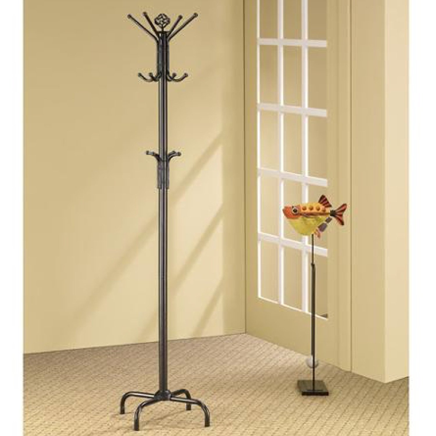 addition to coat standing furniture collection free of in racks cappuccino rack attractive