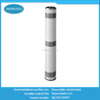 Economical practical round hole gas intake air filter cartridge FOH-644A1K