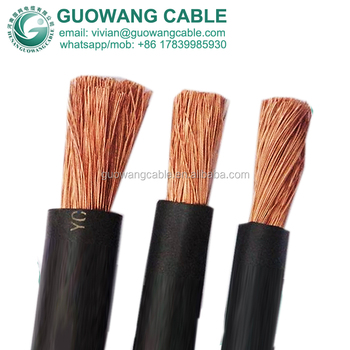 10 awg welding cable 500amp butyl rubber sheathed