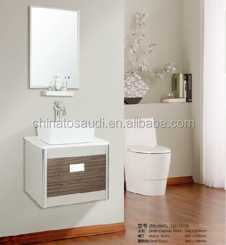 Modern bathroom cabinet,bathroom set with mirror on wall 0288