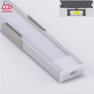 Custom Surface Slim Alu Strip Extrusion Heatsink Light Kanal Channel Led Aluminum Profile
