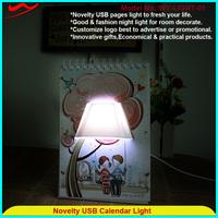 Advertise page light innovative promotion gift company