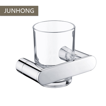 304 Stainless steel new style bathroom wall mounted single toothbrush cup holder