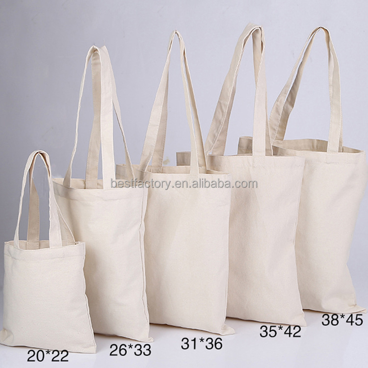 fashion custom design reusable nature green foldable recycled cotton tote bag for shopping