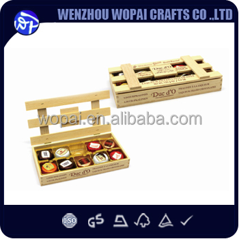 uso y uso industrial de alimentos de chocolate cajas de madera natural de exportacin a amrica