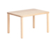 Hot Sale Kids Funiture Four Legs Wooden Table Sets