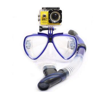 eaacf7bb5 Equipamento de mergulho Adulto mergulho Máscara de Mergulho Snorkel  Conjunto com Ir Pro Montar e Óculos
