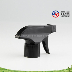 yuyao trigger sprayer black colored water sprayer nozzle