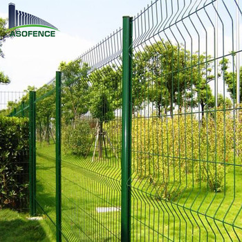 Welded Wire Mesh Fence Panels | 4 Curves 3d Wire Fold Welded Wire Mesh Fence Panels Buy Curved
