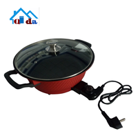Cookware set of red best selling products non-stick pizza mini pan