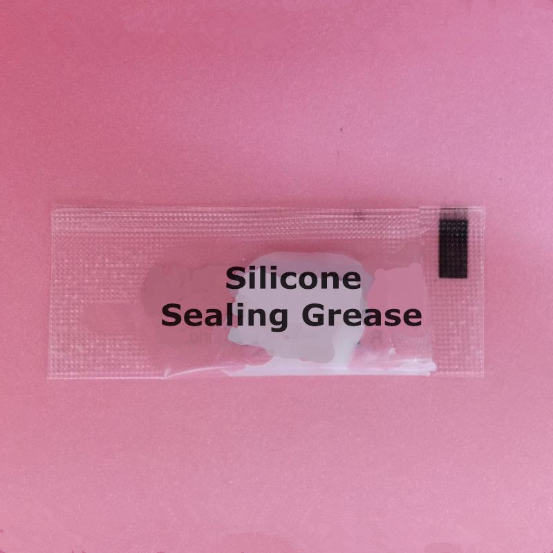Private label lubricants plastic packet silicone grease food grade lubricant grease