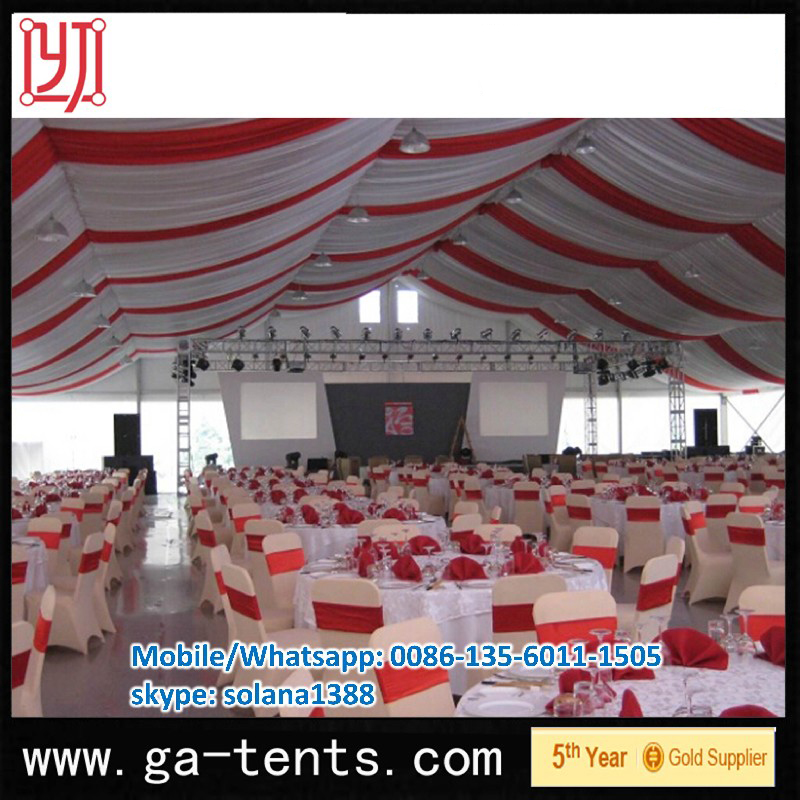 Qingdao Most Beautiful flattop grows tents sale for trade show fair festival