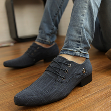 DL10223A 2017 new model men business office shoes casual shoes men