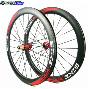Synergy 50MM Carbon Wheels 700C Clincher U Shape Road Disc Brake Bicycle Wheels For 700C