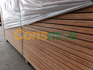 Consmos container plywood /shipped to Vietnam market wooden formwork for constrctiion / Combi core / 25mm brown film