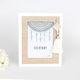 Simple Style Bohemian Wooden White Tassel Table Stand 5x7 Picture Photo Frames
