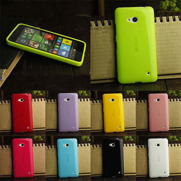 OWNEST 9 colorful silicone soft gel tpu cover case For Microsoft Lumia 640