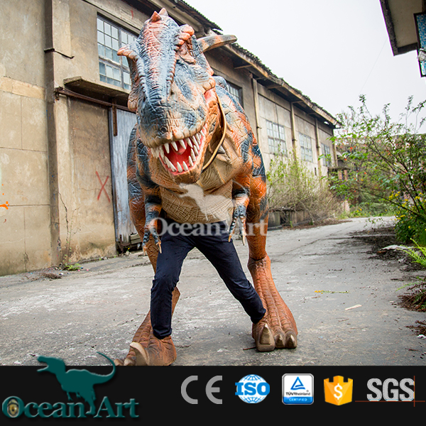OAV2449 Adult funny inflatable carnival dinosaur costumes made in China