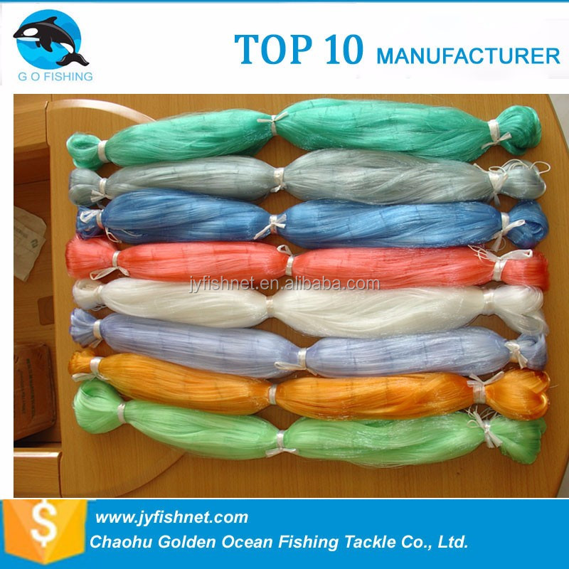 100% Nylon PA6 fishing net products With very tight knots(red de pesca)