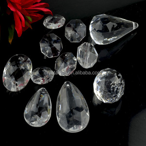 China manufacturer supply Crystal Drops for chandelier, lights decorating