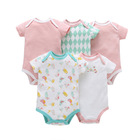 R&H Professional Plaid infant Jumpers Cheap Price Baby Clothes Custom Baby Onesie
