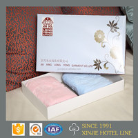 Jacquard Style factory direct 2 pieces/lot hand towel set for gift