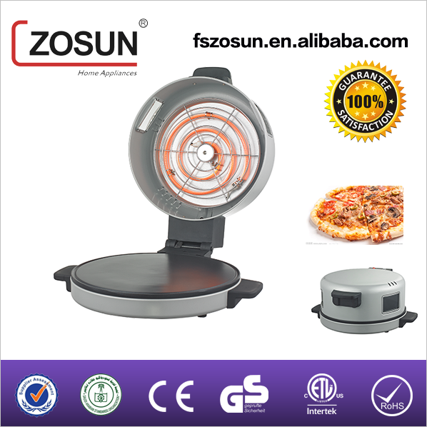 Pizza maker and bread maker with window/ZS 302D/ Luxury design 30CM diameter 1800 watts automatic